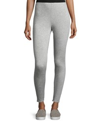 Eileen Fisher Stretch Fleece Leggings Dark Pearl