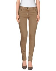 Roccobarocco Denim Pants Khaki