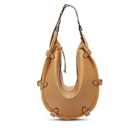 Altuzarra Play Large Leather And Suede Hobo Bag Yellow