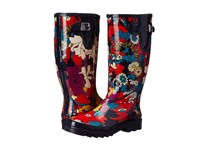 The Sak Rhythm Crimson Flower Power Women's Rain Boots Red
