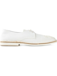 Ann Demeulemeester Flower Derby Shoes