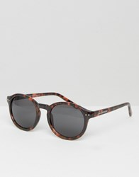 Cheap Monday Circle Round Sunglasses Island Turtle Brown
