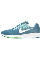 Nike Performance Air Zoom Structure 20 Stabilty Running Shoes Legion Blue White Mica Blue Rage Green