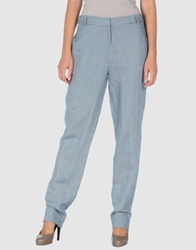 Les Prairies De Paris Casual Pants Blue