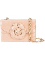 Oscar De La Renta Gardenia Crossbody Bag Nude And Neutrals