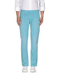 Oaks Trousers Casual Trousers Men Turquoise