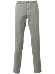 Incotex Straight Jeans Grey