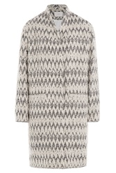 Iro Caly Boucle Coat Multicolor