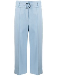 Luisa Cerano Wide Leg Cropped Trousers 60