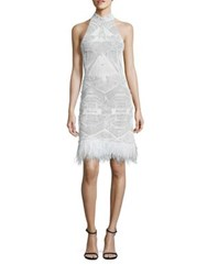 Jonathan Simkhai Beaded Mini Dress Ivory