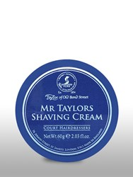 Taylor Of Old Bond Street Mr Shaving Cream Bowl Travel Size Blue