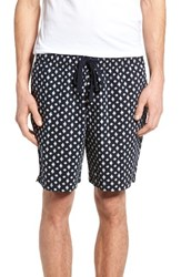 French Connection Men's Ikat Cross Twill Drawstring Shorts