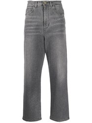 Twin Set Glitter Jeans Grey