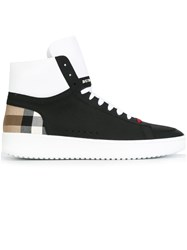 Burberry 'House Check' Hi Top Sneakers Black