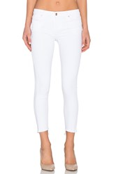 Joe's Jeans Marlie Play Dirty Stay Spotless The Blondie Ankle Optic White