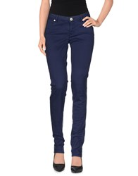 Siviglia Denim Trousers Casual Trousers Women Blue