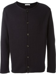 Societe Anonyme Buttoned Cardigan Blue
