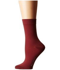 Falke Cotton Touch Socks Garnet Women's Low Cut Socks Shoes Red