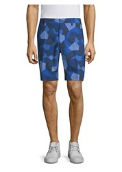 J. Lindeberg Golf Eloy Micro Stretch Shorts Blue Eclipse
