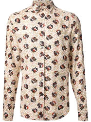 Paul And Joe Floral Dog Print Shirt