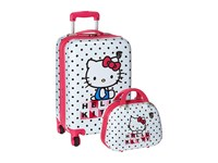 Heys America Hello Kitty 2 Piece Set 21 Carry On Beauty Case White Carry On Luggage