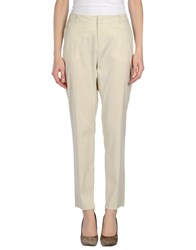 Max And Co. Trousers Casual Trousers Women Light Grey
