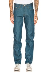 Naked And Famous Weird Guy Cerulean Blue Selvedge 15Oz