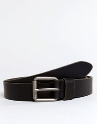 Esprit Belt Leather Chino Black