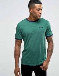 Fila Vintage T Shirt With Small Script Green