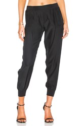 Atm Anthony Thomas Melillo Woven Jogger Black