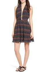 Lost Wander 'S Bali Halter Dress Dark Multi
