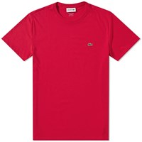 Lacoste Classic Fit Tee Red