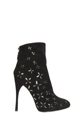 Alaia Embroidered Boots Black
