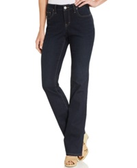 Style And Co. Curvy Fit Modern Bootcut Jeans Stream Wash