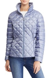Lauren Ralph Lauren 'S Packable Quilted Down Jacket Mineral Blue