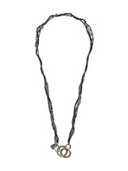 Goti Multiple Chains Necklace Silver