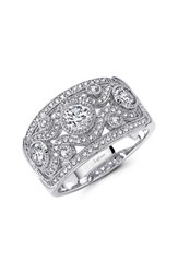 Lafonn Women's Classic Wide Band Ring