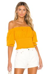 Lovers Friends Lydia Top Yellow
