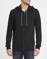 Element Black Cornell Zipped Hooded Sweatshirt