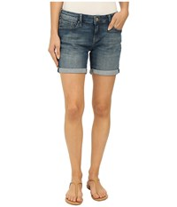 Mavi Jeans Pixie In Used Green Tribeca Used Green Tribeca Women's Shorts Blue