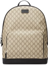 Gucci Gg Supreme Backpack Nude Neutrals