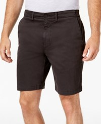 Dkny Sateen Stretch Shorts Meteorite