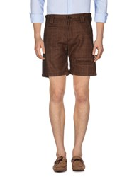 Galliano Bermudas Brown
