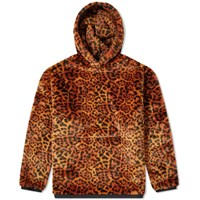 Aries Faux Fur Hoody Brown