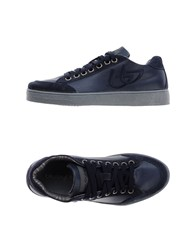 Blu Byblos Footwear Low Tops And Trainers Men Dark Blue