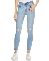 Nobody Cult Destructed Skinny Jeans In Light Pasblue