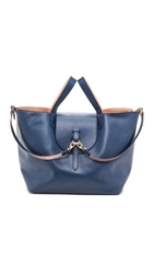 Meli Melo Reversible Thela Large Bag Navy And Rose Gold