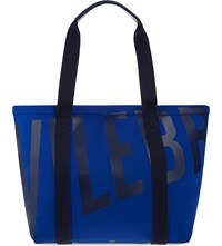 Vilebrequin Logo Beach Bag Celeste Blue