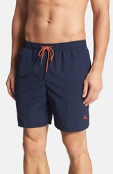 Tommy Bahama Men's 'The Naples Happy Go Cargo' Swim Trunks Blue Note