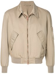 Doppiaa Zipped Fitted Jacket Nude And Neutrals